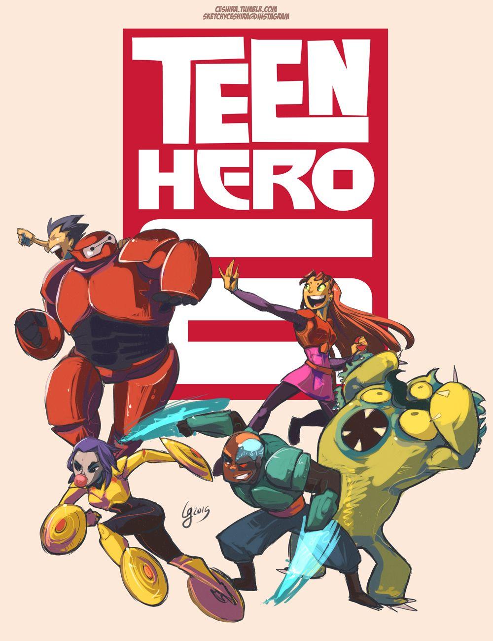 Teen Hero 6  Teen Titans  Teen Titans, The New Teen -4482