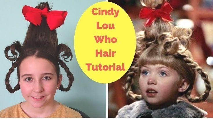 How to do cindy lou hair