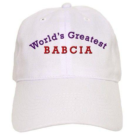 Worlds Greatest Babcia Cap