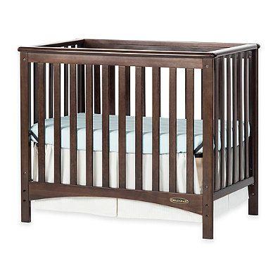 Child Craft London Euro 2 In 1 Convertible Mini Crib In