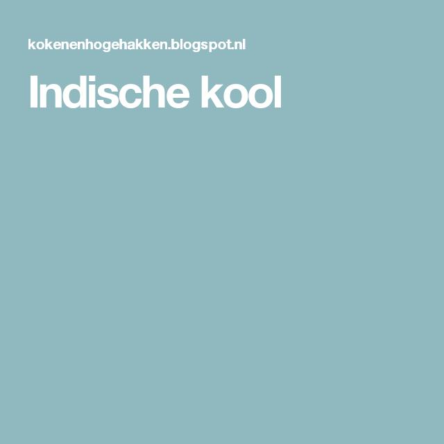 Indische kool