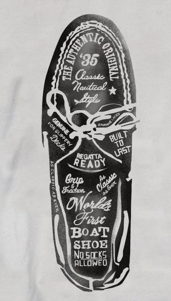 Boat Shoe Typography