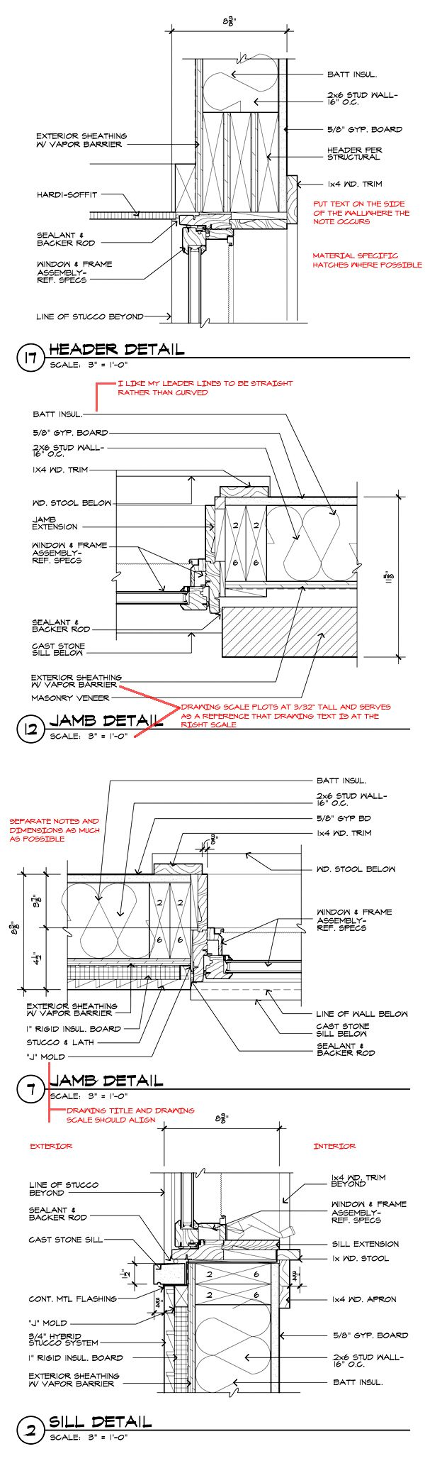 Architectural Drawing Window window details - architectural graphics standards | arch / graphic