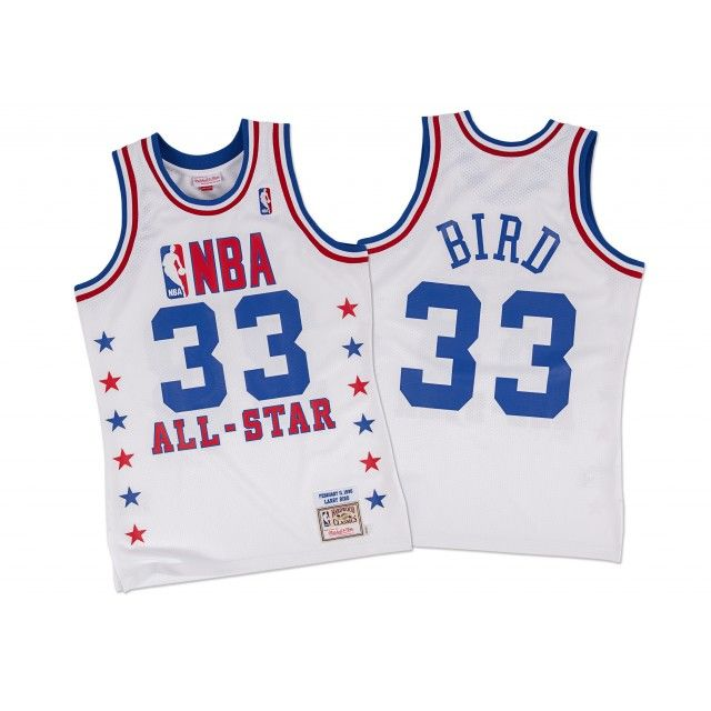 Larry Bird 1990 Authentic Jersey NBA All-Star