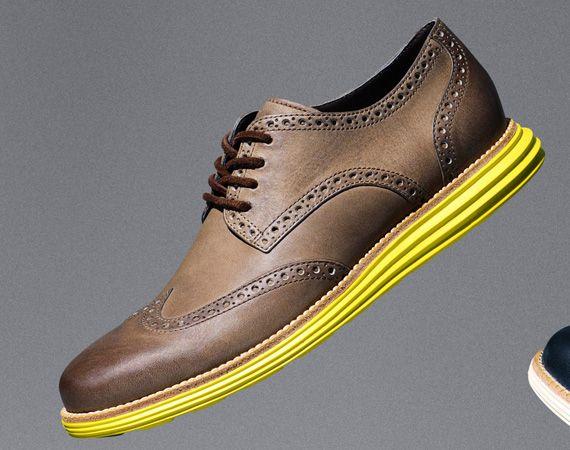 Cole Haan LunarGrand Leather Wingtip