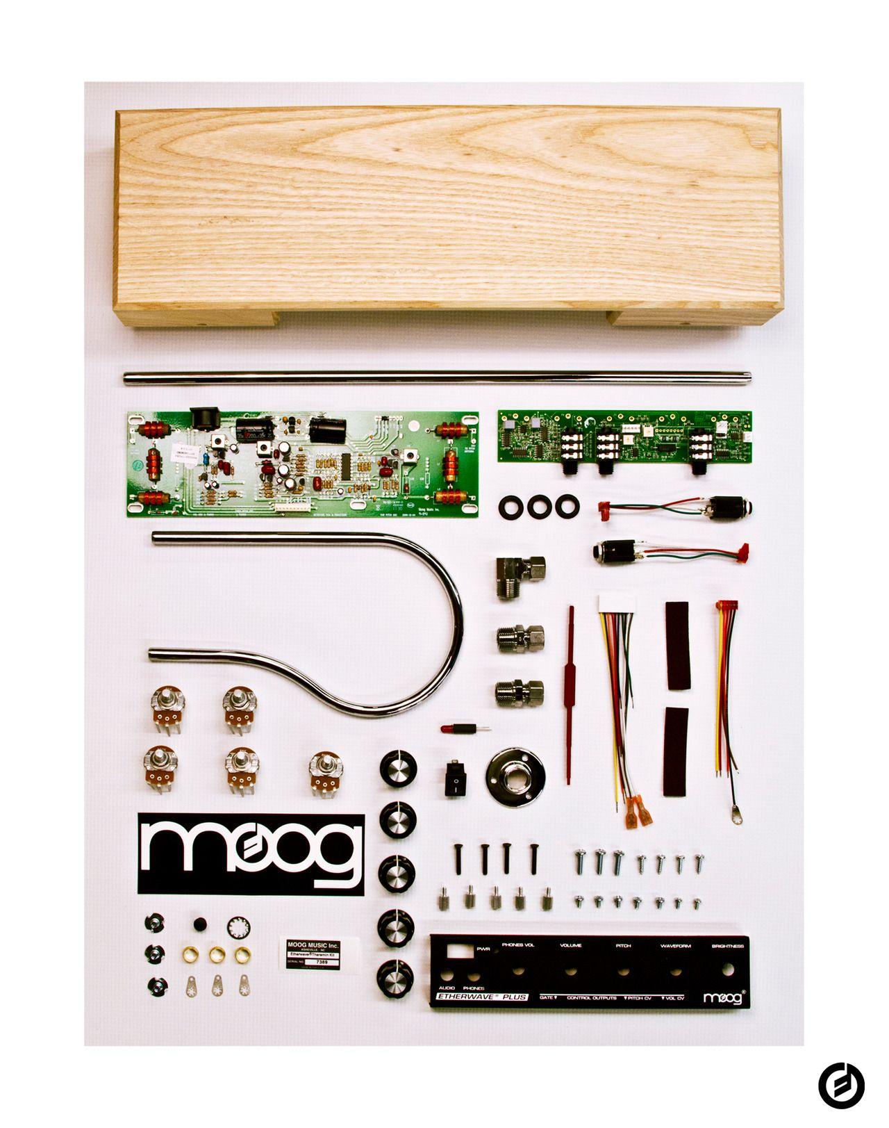 Moog Etherwave Standard Theremin Kit Things Organised Neatly