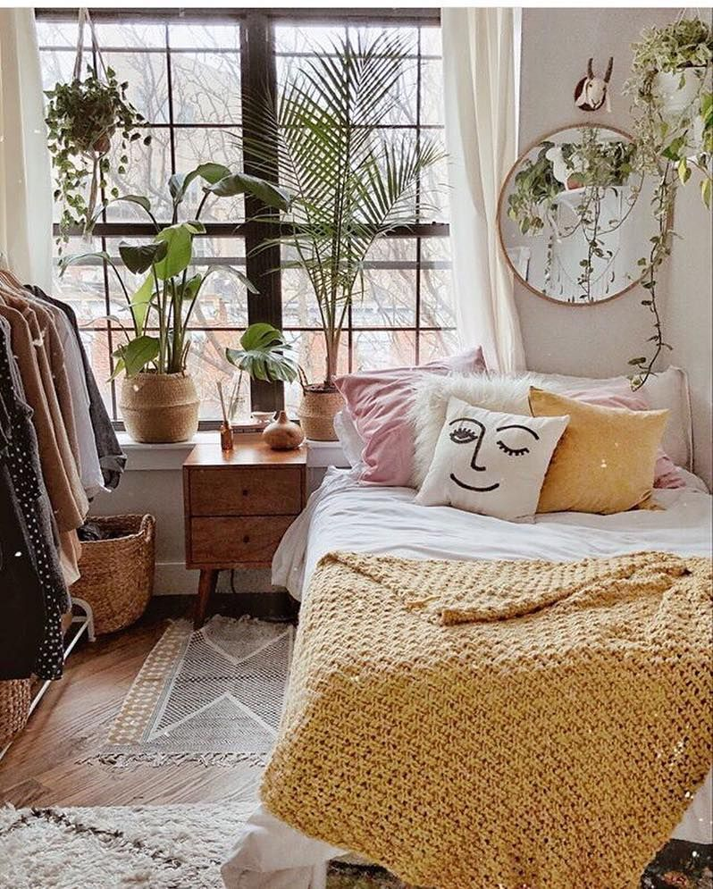 """Real Living on Instagram: """"This cheerful bedroom is the equivalent"""