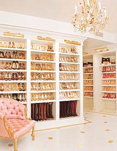 10 Amazing Celebrity Closets Kim Kardashian Olivia Palermo Rachel Zoe More