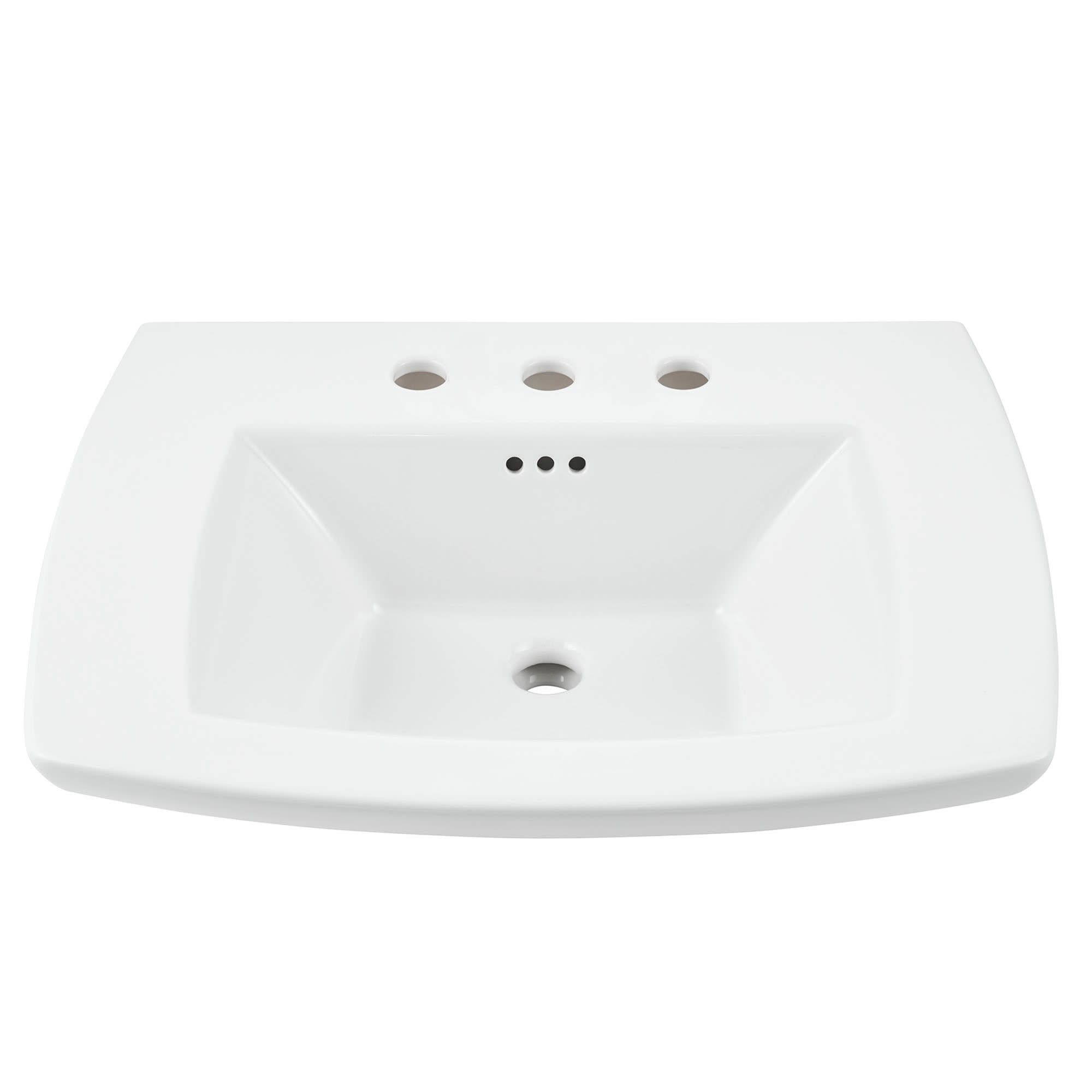 American Standard 445 008 Edgemere 25 Fireclay Pedestal Bathroom