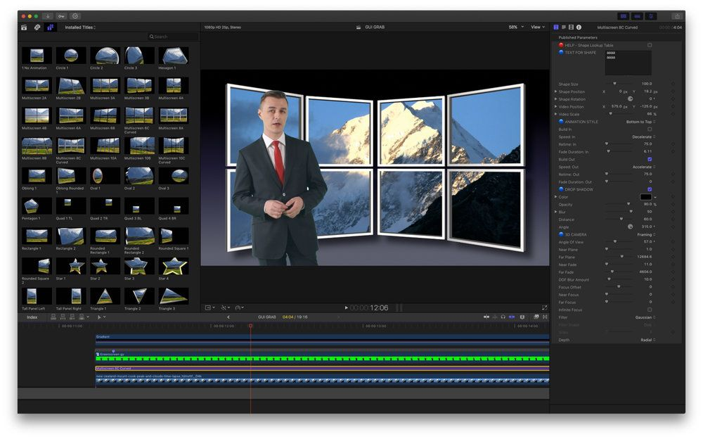 XEffects 3D Video Walls plugin released for Final Cut Pro X | Final ...