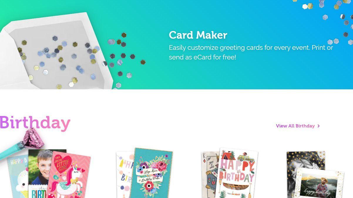 Island Greeting Card  Free greeting card templates, Greeting card