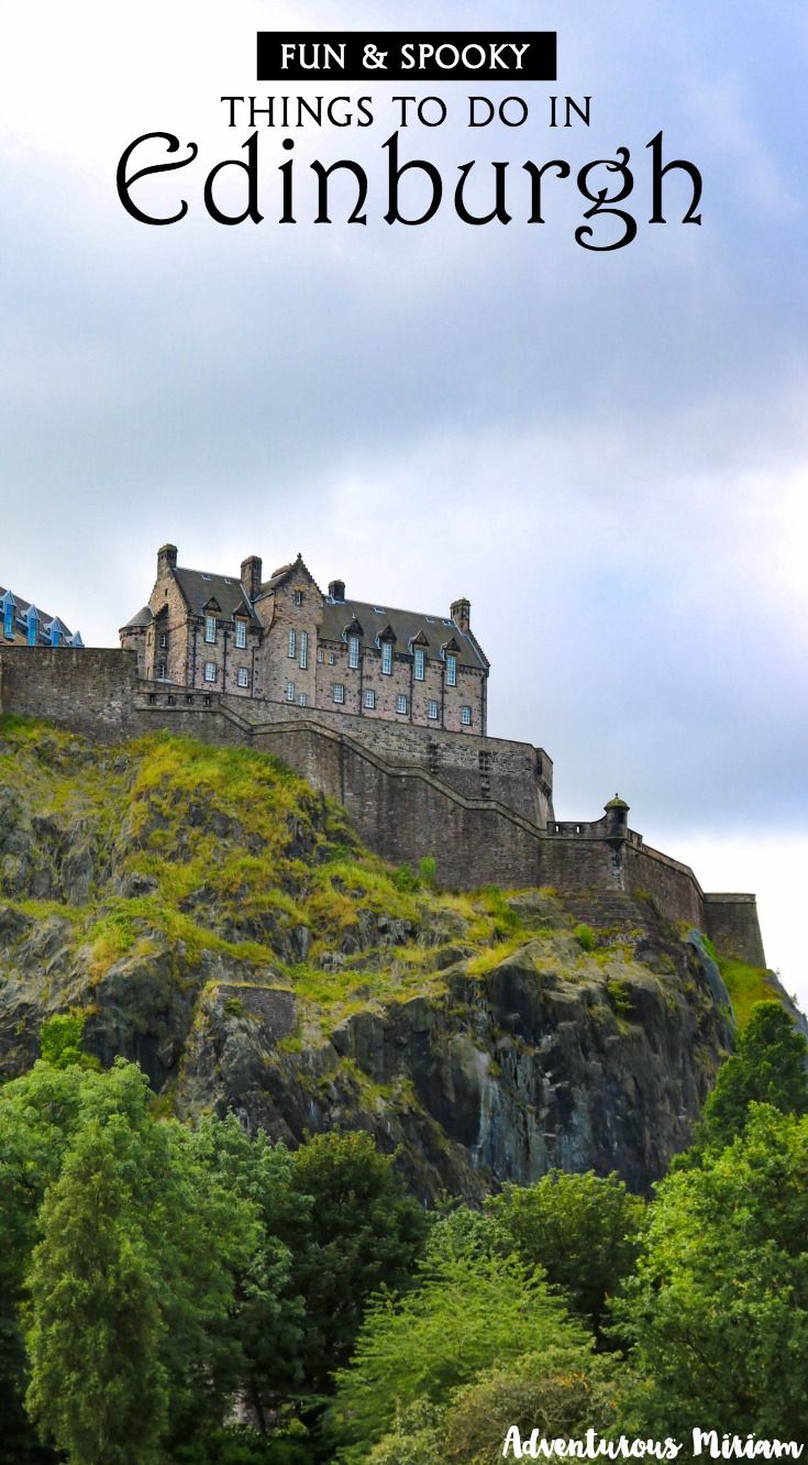 Edinburgh might just be the most haunted and atmospheric city in the world. And you know, it has had its fair share of serial killers, ghost stories and plague outbreaks. In the Old Town, memories from the Middle Ages lurk around every corner, in the dark alleyways and the moldering graveyards. Here are some awesome things to do in Edinburgh, Scotland.