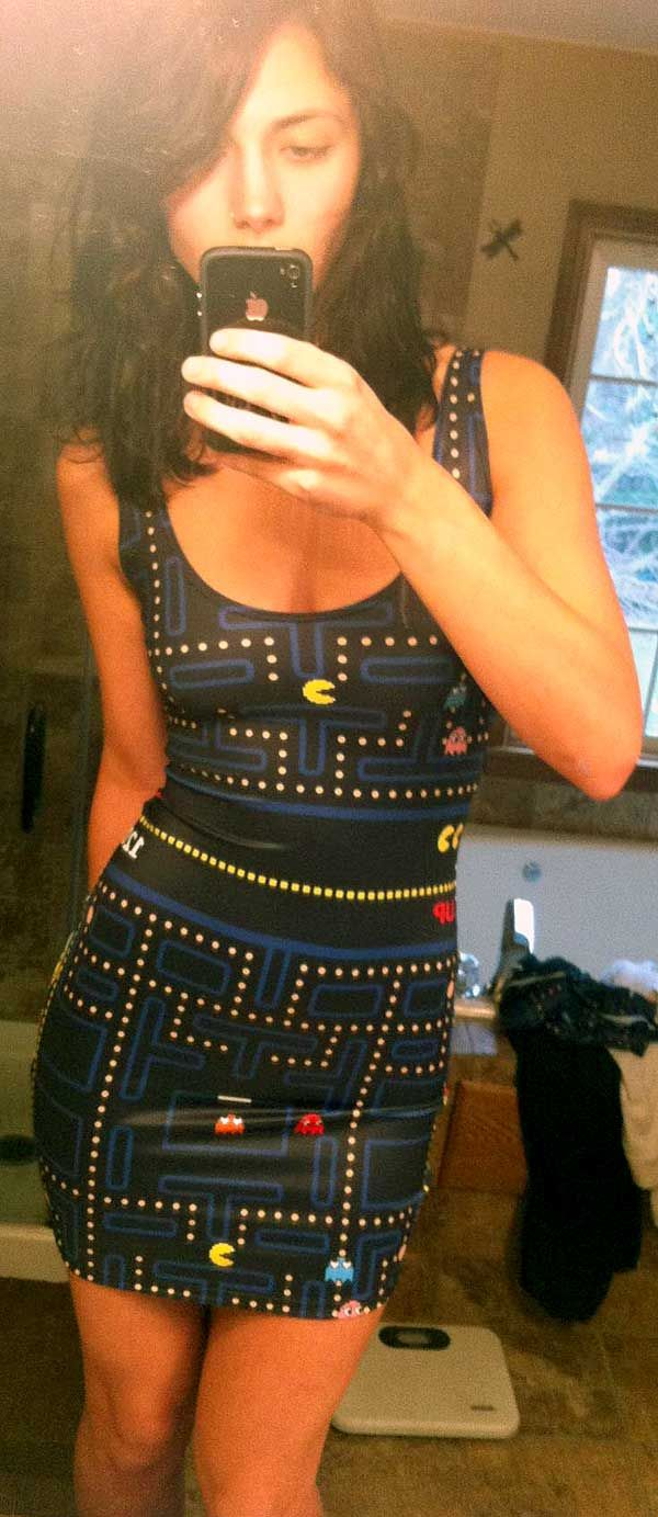 Cosplay – Pacman Dress Sexy Cosplay   What my girl should ...