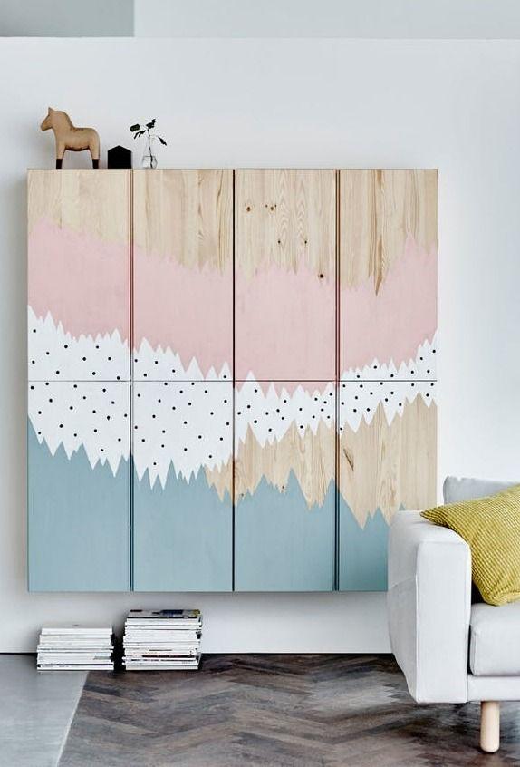 Brilliant Ikea Hacks For Big Blank Walls Diy Projects Ideas