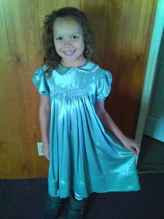 Roies Smocked Easter Dress by ShopWildFireflies on Etsy, $74.95