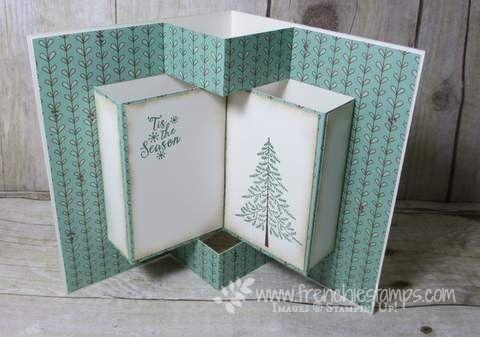 Video Pop Up Book Fancy Fold Blog Hop Stamp Scrap With
