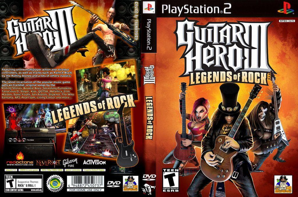 guitar hero 3 ps2 formato iso