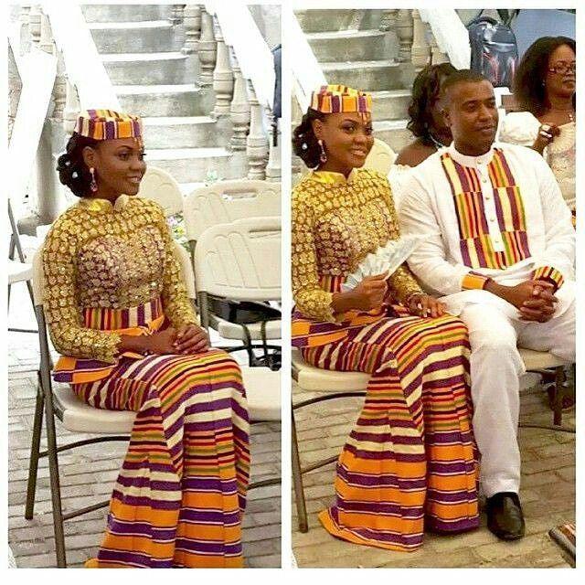 Ghana Kente Styles For Engagement, Kente Styles, Kente