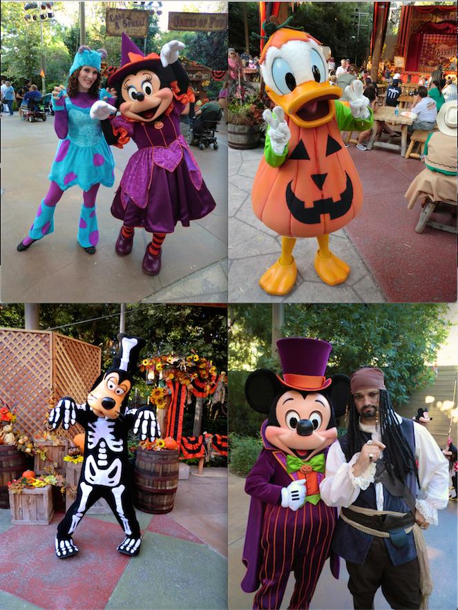 Costumed Characters at Disneyland - Halloween Time & Costumed Characters at Disneyland - Halloween Time | I ? disney ...