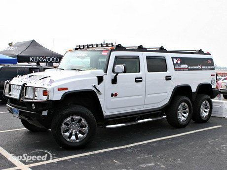 Hummer H6 Player Edition Is A 103 000 Super Suv Six Wheeled