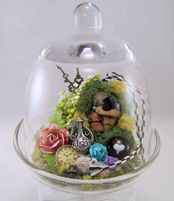 Alice in Wonderlands Caterpillar Bell Jar by thefaerywatcher, $65.00 DIY