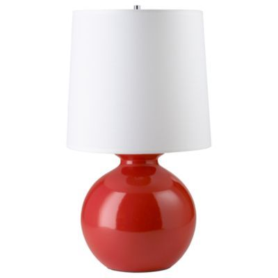 Gumball Lamp Red The Land Of Nod Red Table Lamp Table Lamp Lamp