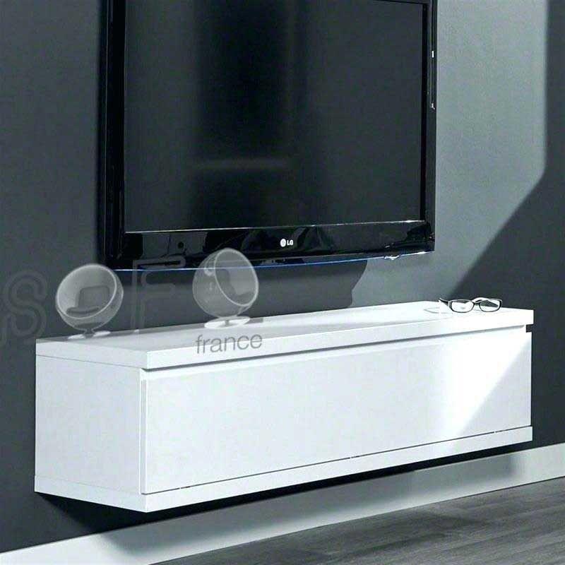Meuble Tv Suspendu Blanc Laque Meuble Tele Suspendu Blanc Laque