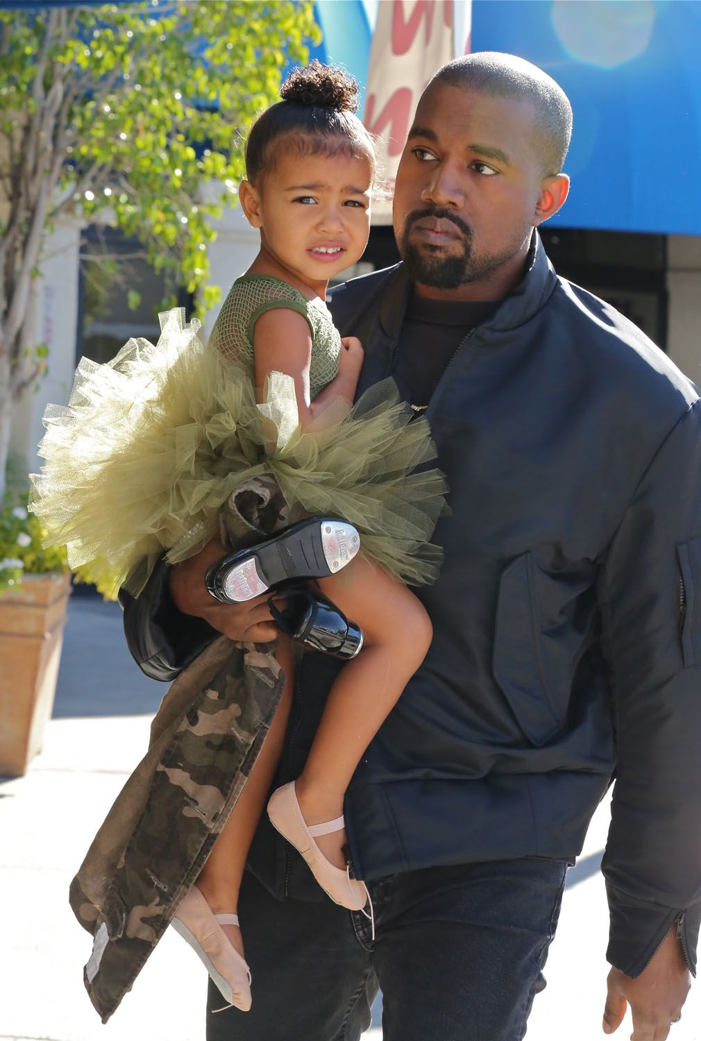 North West Dressed Better Than All Of Us At Coachella North West Style Kanye West Green Tutu