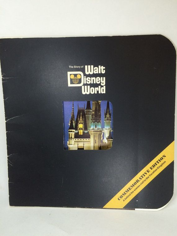 The Story of Walt Disney World  Commemorative Edition by RetroCot