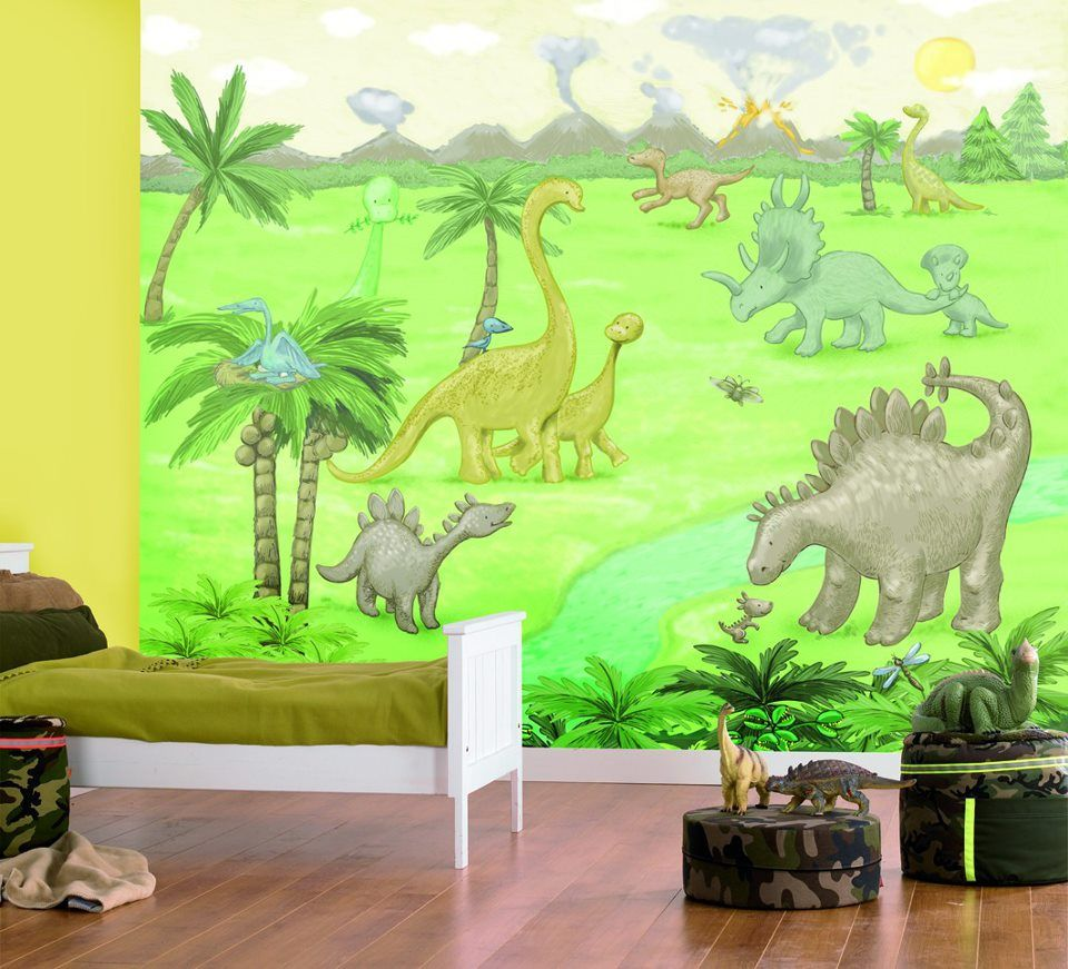 Dinosaurios decoraci n de paredes y puertas pinterest for Dinosaur mural ideas