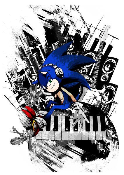 Download 61+ Gambar Grafiti Kartun Sonic Paling Bagus Gratis