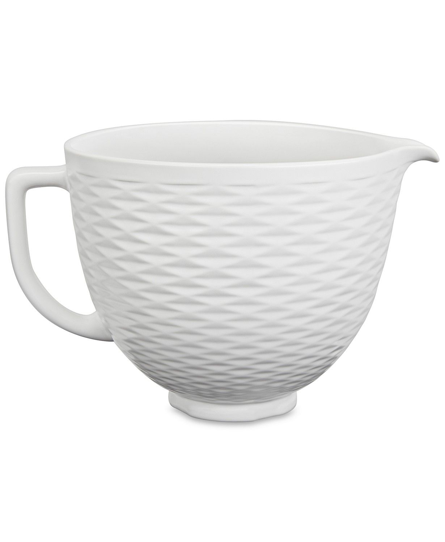 Kitchenaid 5qt textured ceramic bowl reviews small