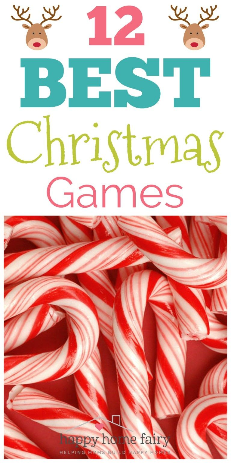 12 BEST Christmas Games Christmas games for family, Fun