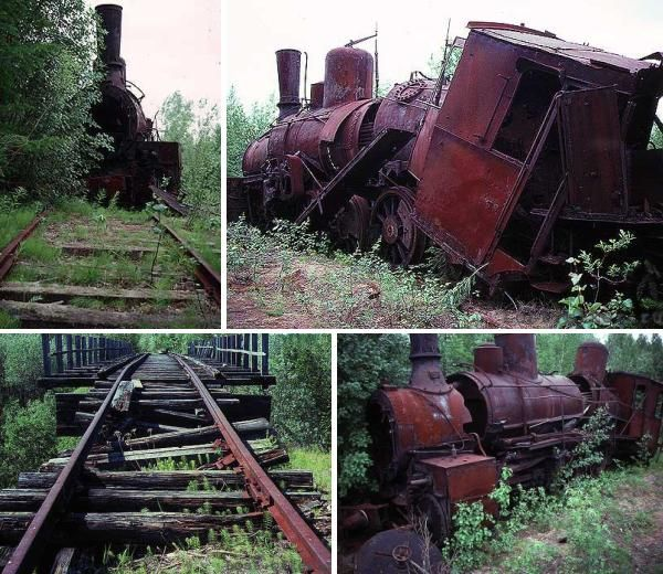 More Isolated Train Carcasses Lie Along The Dreaded Route