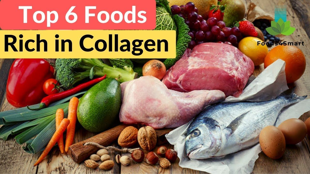 Top 6 Foods Rich In Collagen How To Restore Collagen In The Face Healthyfoods4life Youtube In 2020 Paleo Nutrition Eating After Workout Athlete Nutrition
