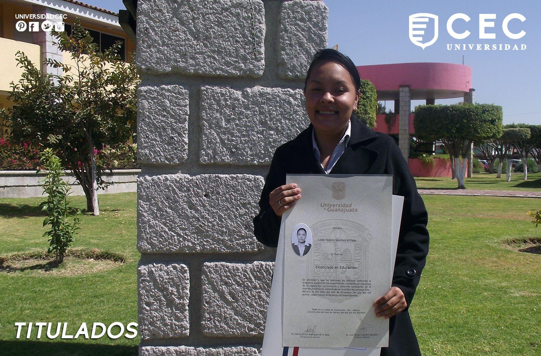 Muchas felicidades Licenciada Lidia Sánchez