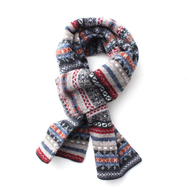 Barbour Melrose Fair Isle Scarf   Accessories - strikket   Pinterest