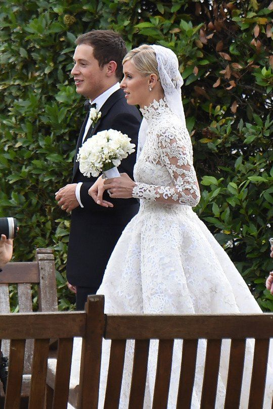 Nicky Hilton Got Her Dress Caught In A Car Wheel And Flashed Everyone At Her Wedding Yesterday - Yahoo News