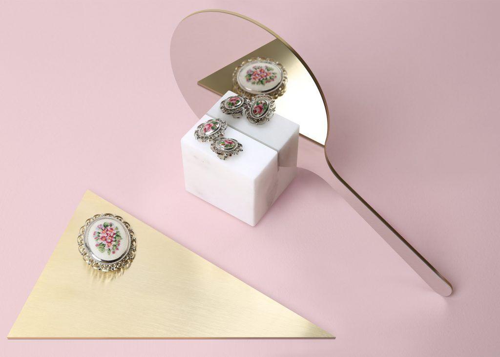 Richard Yasmine's Ashkal mirrors slice into geometric bases