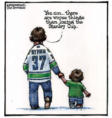 Canucks Fans Shouldn T Have To Be Reminded Of This We Should Already Know Canucks Vancouver Canucks Hockey Mom