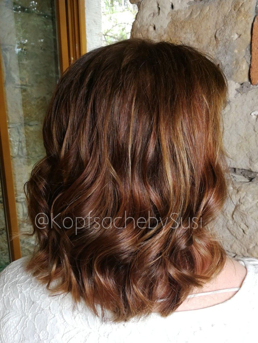 Brownhair Chocolatehair Brunette Highlights Softbalayage Balayage