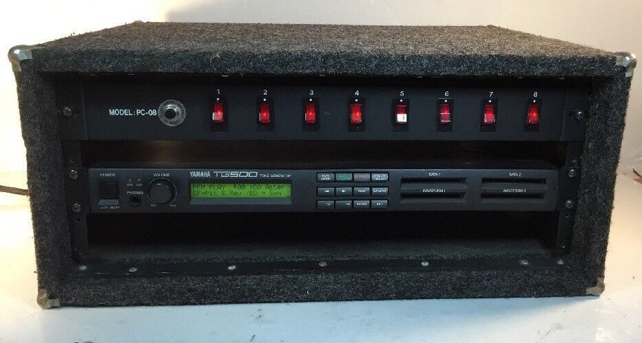 Yamaha TG500 TONE GENERATOR 1992 Vintage Synth W/ PORTABLE