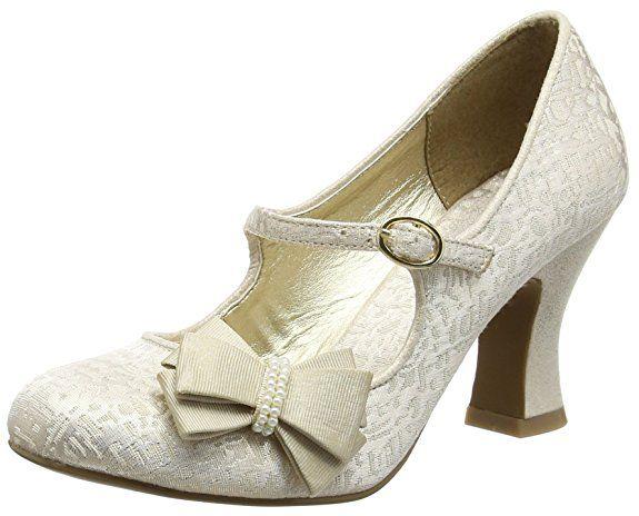 Ruby ShooCelia - Scarpe con tacco, Donna, Oro (Oro (Gold)), 41