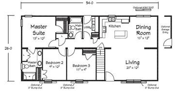 1404 sq ft 3 bedroom 2 bath plus basement houseplans 3 bedroom in 2019 modular home. Black Bedroom Furniture Sets. Home Design Ideas