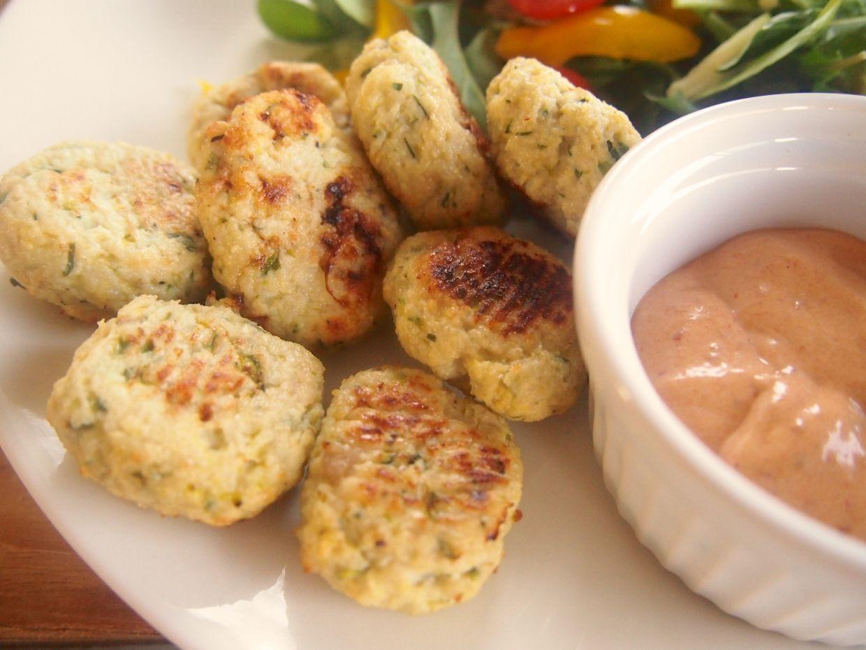Zucchini & Chicken Bites (Gluten, Grain, & Dairy Free