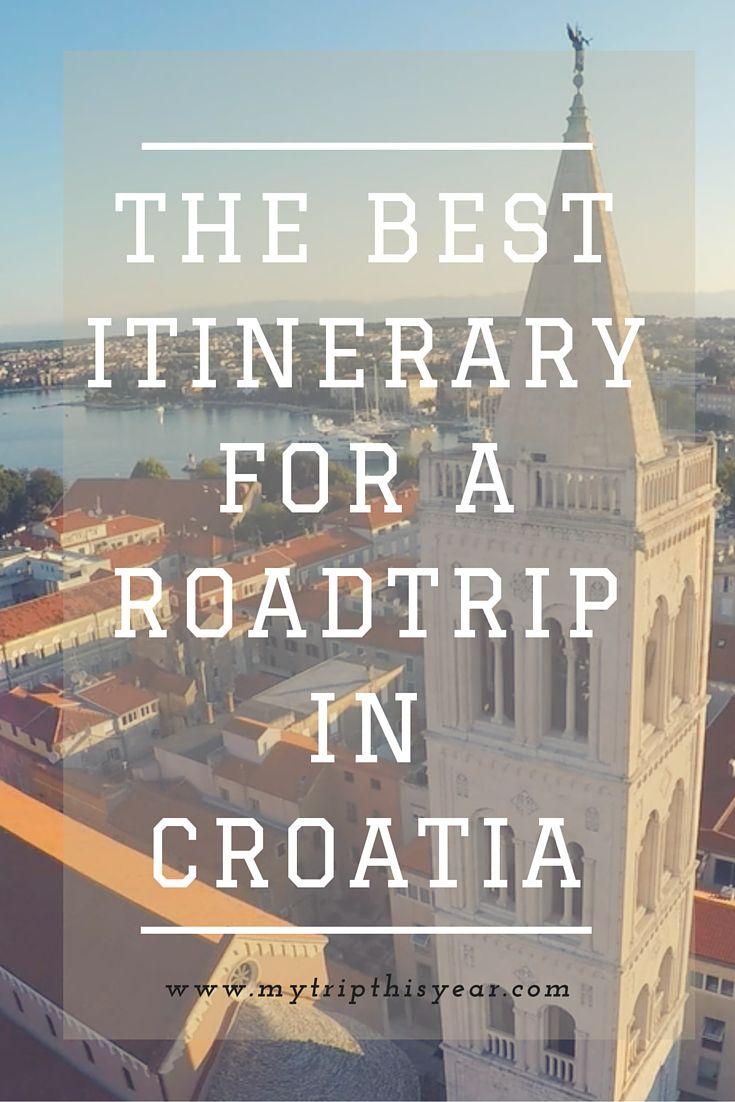 Roadtrip Croatia Pin Croatia Travel Croatia Road Trip