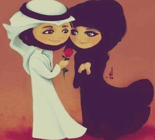 Love Islam And Muslim Image Hijab Anime Cartoon Manga