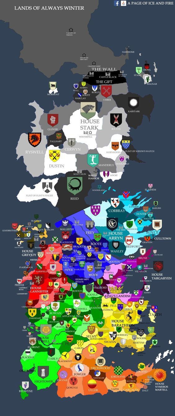 NO SPOILERS] Map of games of throne | GOT in 2019 | Game of thrones on