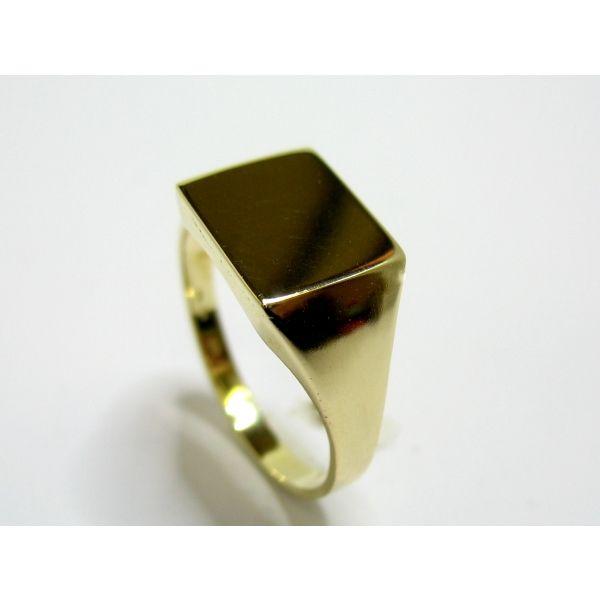 7655b36c822 PÁNSKÝ ZLATÝ PRSTEN 74   Zlatnictví Helios   Pánské prsteny   Zlato ...