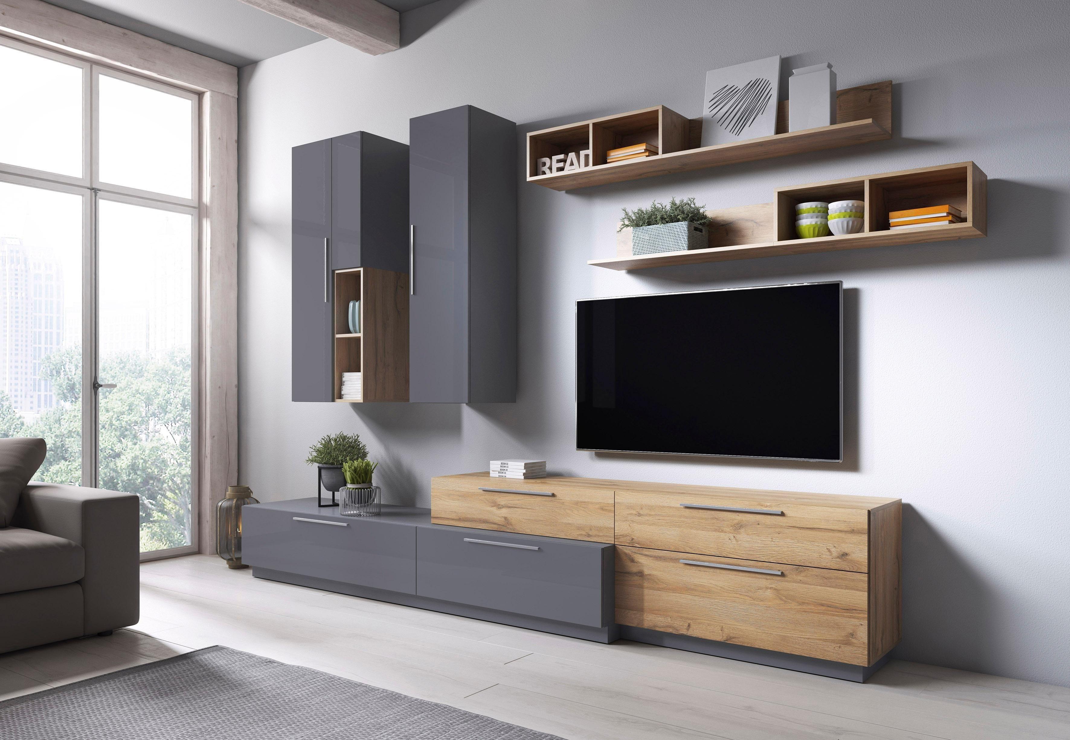 Wohnwand »ANKE« 5 tlg. bestellen   BAUR   Living room ...